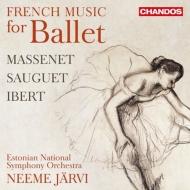 N・ヤルヴィ&エストニア国立響/フランスのバレエ音楽集