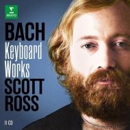 スコット・ロス/バッハ:鍵盤楽器作品録音集(11CD)