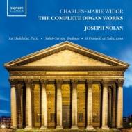 ジョセフ・ノーラン/ヴィドール:オルガン作品全集(8CD)