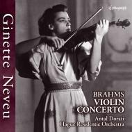ヌヴー/ブラームス:ヴァイオリン協奏曲、1949年ライヴ