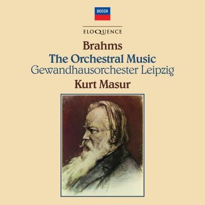 マズア&ゲヴァントハウス管/ブラームス:交響曲全集、他(8CD)
