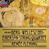 エマーソン弦楽四重奏団&ルネ・フレミングのベルク『抒情組曲』