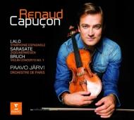 ルノー・カプソン&パーヴォ・ヤルヴィのスペイン交響曲、ブルッフ第1番、...