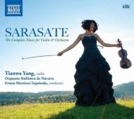 サラサーテ:ヴァイオリンと管弦楽のための作品全集(4CD)