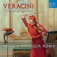 名手ミナーシによるヴェラチーニ:ヴァイオリン・ソナタ集