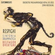 レスピーギの大迫力作品、劇的交響曲と、『ベルファゴール』序曲