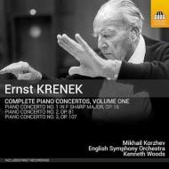クレネク:ピアノ協奏曲全集 第1集