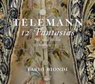 ビオンディがテレマン無伴奏ヴァイオリン・ファンタジアを録音