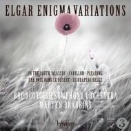ブラビンズ&BBCスコティッシュ響/エルガー:エニグマ変奏曲、南国にて...
