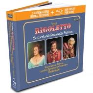 パヴァロッティの『リゴレット』(2CD+ブルーレイ・オーディオ)