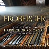フローベルガー:チェンバロ、オルガン作品全集(16CD)