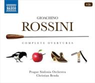 室内オケによる機動力ある演奏で楽しむロッシーニ序曲全集