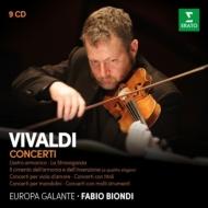 ファビオ・ビオンディのヴィヴァルディ・ボックス(9CD)