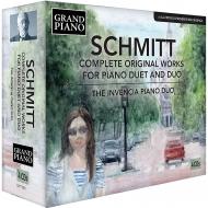 フローラン・シュミットの4手作品全集(4CD)