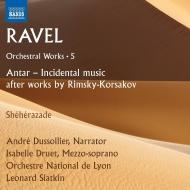 スラトキン&リヨン管弦楽団によるラヴェル第5弾