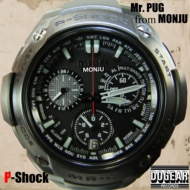 『P-Shock』 Mr.PUG from MONJU
