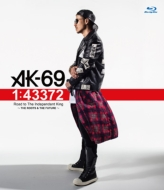 AK-69 『1:43372 Road to The Independent King 〜THE ROOTS & THE FUTURE〜』【Blu-ray】
