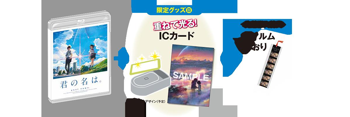 ICカード+限定特典+先着購入特典付