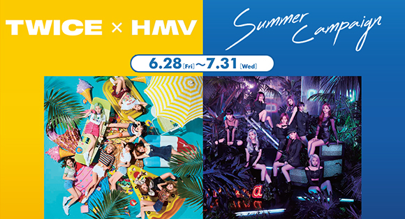 TWICE × HMV Summer Campaign