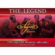 THE SQUARE再結成2DAYSライヴがブルーレイ&DVDで登場