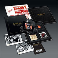 ビル・ブラッフォードのソロキャリアを包括した8枚組ボックス