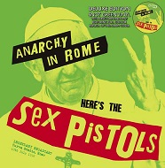 セックスピストルズのライブのアナログ盤が、スリップマット付きでリリース!