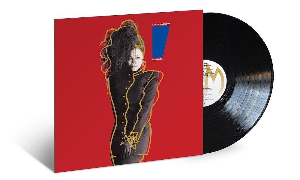 ジャネット・ジャクソン86年の大ヒット・アルバム『CONTROL』が180g重量盤アナログで復刻!
