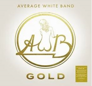 アヴェレージ・ホワイト・バンドのベストがゴールド・カラー仕様、3枚組重量盤LPで登場