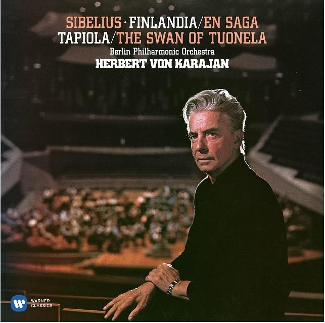 【LP】 カラヤン・リマスター・エディションからの名演『シベリウス:管弦楽作品集』の2枚組180g重量盤LP