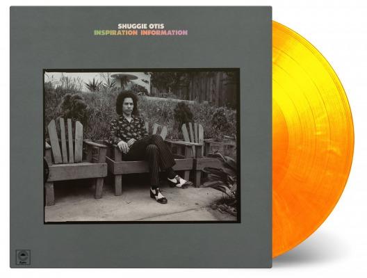 シュギー・オーティス名盤がカラーヴァイナル仕様180g重量盤LPで登場