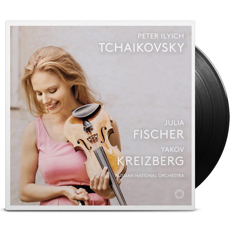 【LP】 ユリア・フィッシャーの名盤、チャイコフスキー・アルバムがLPで登場
