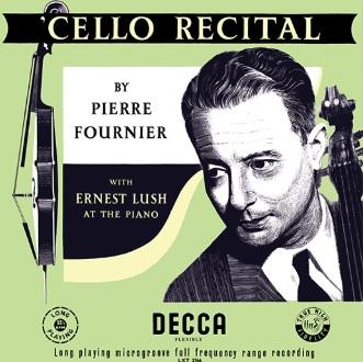 【LP】 チェロの貴公子フルニエの名演、名録音をアナログ盤で