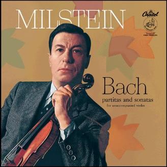 【LP】 ミルシテインによるバッハ、180g重量盤LPで登場