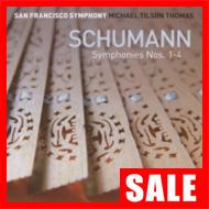 【在庫特価】ティルソン・トーマス&SFS/シューマン交響曲全集