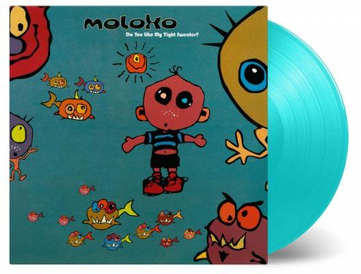 90年代UKクラブシーン代表デュオ、モロコのデビュー・アルバム『Do You Like My Tight Sweater?』がカラーヴァイナル仕様2LPで再発