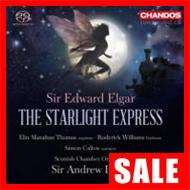 【在庫特価】A・デイヴィス/エルガー:『スターライト・エクスプレス』