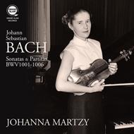 【LP】ヨハンナ・マルツィ/バッハ:無伴奏ヴァイオリンのためのソナタとパルティータ 全曲