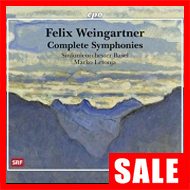 【在庫特価】ワインガルトナー:交響曲全集、管弦楽曲集(7SACD)