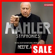 【在庫特価】ネーメ・ヤルヴィ/マーラー:交響曲集(6CD)