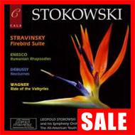 【在庫特価】ストコフスキー/ストラヴィンスキー:組曲『火の鳥』、他