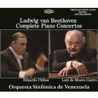 チバス&カストロ/ベートーヴェン:ピアノ協奏曲全集