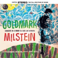 【LP】 ゴルトマルクのミルシテイン絶品録音作品