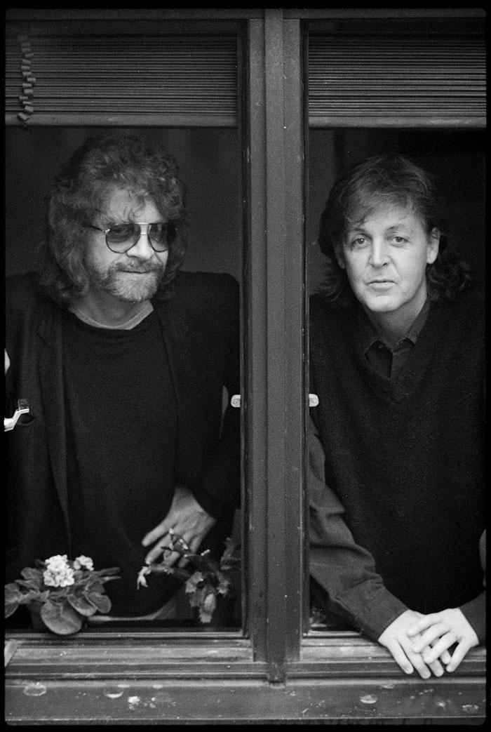 ジェフ・リンとポール・マッカートニー