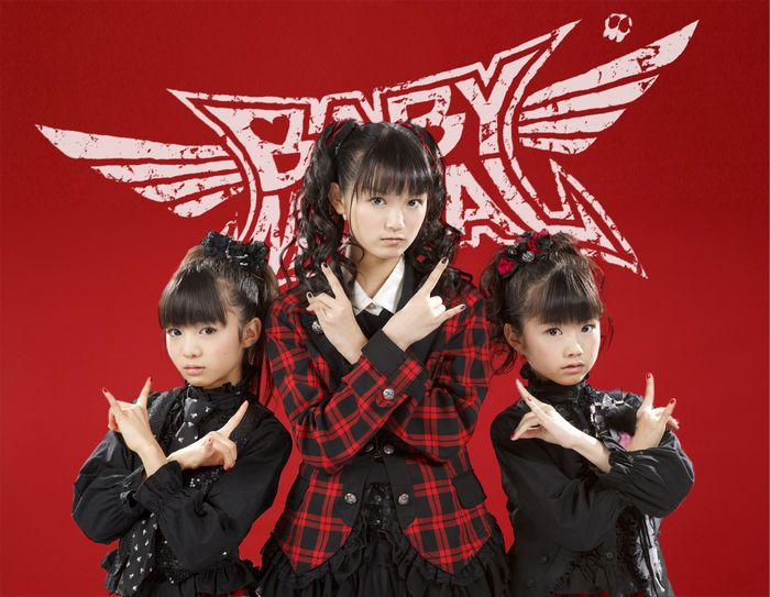 BABY METAL クリックで拡大