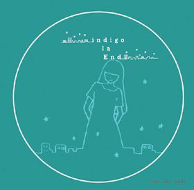 indigo la End 『あの街レコード』ステッカー