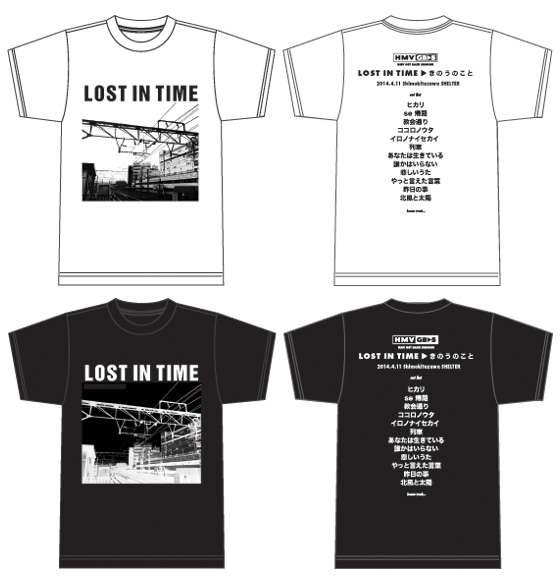 『HMV GET BACK SESSION』 LOST IN TIME「きのうのこと」Tシャツ