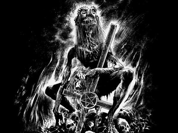 EVIL/LURKING FEAR Split