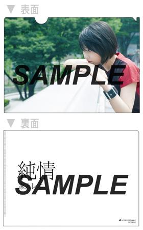 【先着特典】『純情』初回限定盤A(VIZL-676)用A5クリアファイル