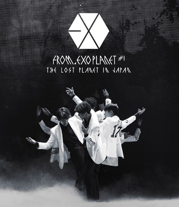 EXO FROM. EXOPLANET#1 - THE LOST PLANET IN JAPAN / Blu-ray通常盤ジャケット