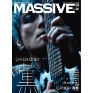 【限定特典】MASSIVE最新刊 vol.28の表紙:薫(DIR EN GREY)登場!